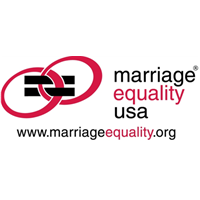 Logo of Marriage Equality USA